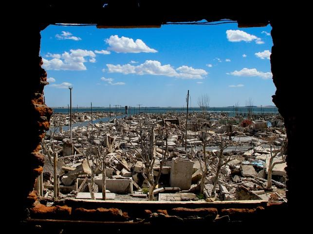 A photograph of a war zone. When teaching to diverse groups overseas, there are many circumstances to consider.