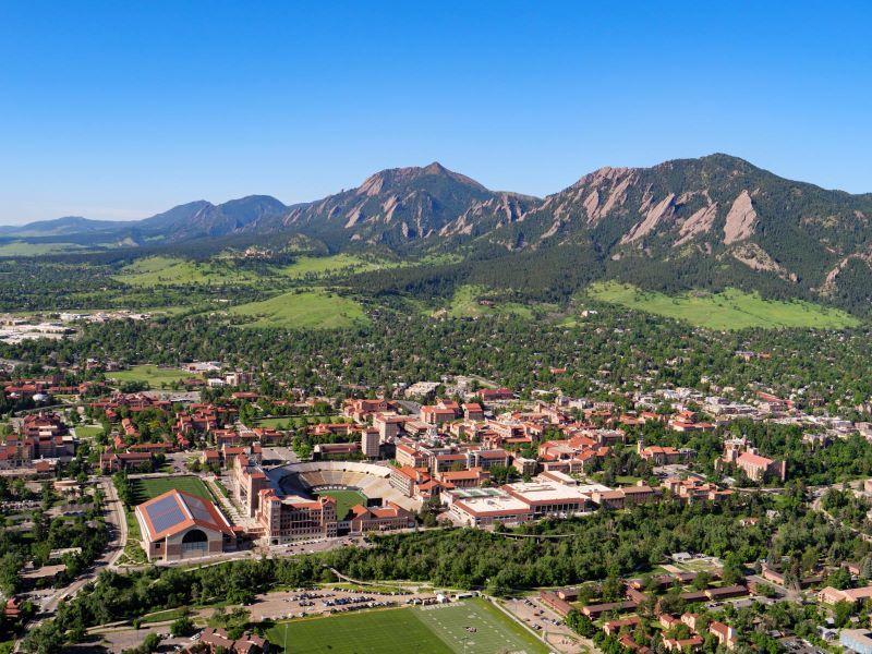 The University of Colorado Boulder campus